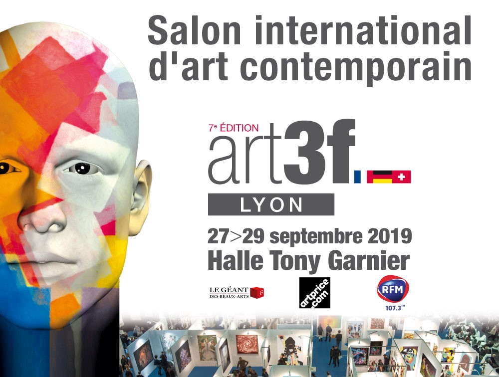Salon Art3F Lyon 2019